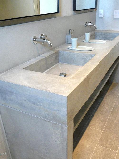 Concrete Bathroom Vanity By Hightech Tsc