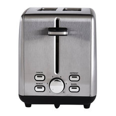 2-Slice Extra Wide Slot Toaster, Stainless Steel