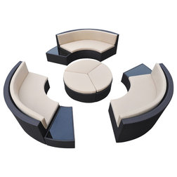 Tropical Outdoor Lounge Sets by Armen Living