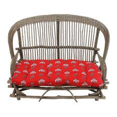 Ohio State Buckeyes Settee Cushion