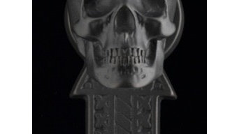 New images of Faucetto's Skull Von Bronze faucets and door hardware