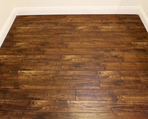 Distressed Laminate Flooring : Harvest gold distressed laminate floor