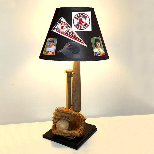 Lamp Revival   Team Customized Baseball Lamp   Table Lamps