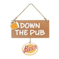 Down the Pub Hanging Sign