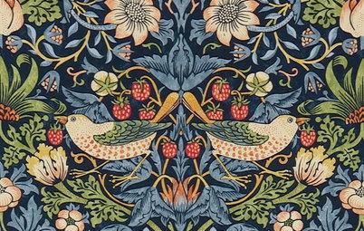Nygamla mönster: William Morris är het igen