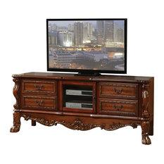 ACME Dresden TV Console In Cherry Oak