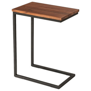 Pietra Small Side Table Industrial Side Tables And End Tables By Design Ideas