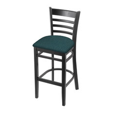 3140 25-inch Counter Stool With Black And Graph Tidal Seat