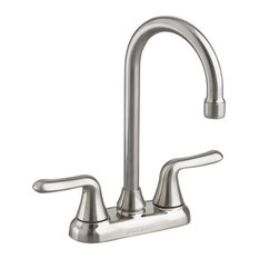 American Standard 2475.5 Colony Soft Bar/Prep Faucet, Stainless Steel