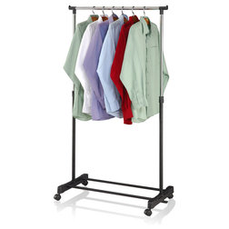 Traditional Clothes Racks by HOME BASICS