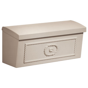 Townhouse Mailbox, Surface Mounted, Beige