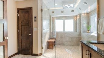 Bath remodel - shower door
