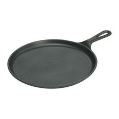 """Lodge Cast Iron Cookware - Cast Iron Griddle 10.5x1/2"""" - Griddles and Grill Pans"""
