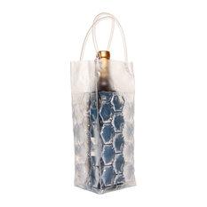 Wine Cooler Bag, Clear, Set of 2