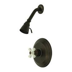 Kingston Brass Vintage Single Handle Shower Faucet, Oil Rubbed Bronze