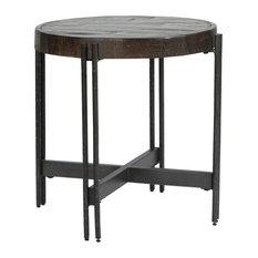 Jillenhurst Dark Brown Round End Table
