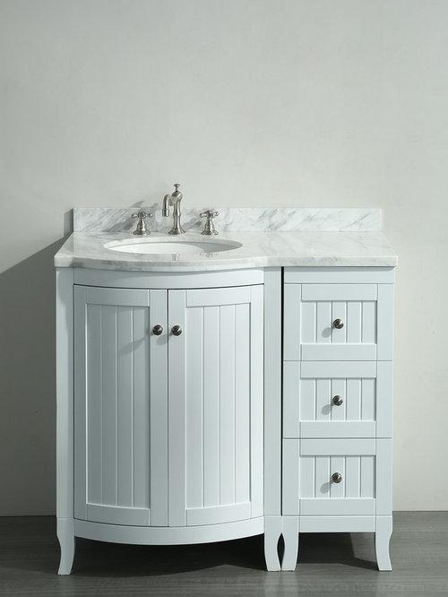 36 inch white bathroom vanity white carrera marble top bathroom vanities and sink consoles