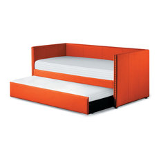 Kendra Daybed With Trundle, Orange