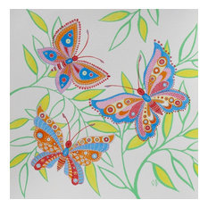 Butterfly Painting, Original Watercolor, Butterfly Illustration by Olena Baca
