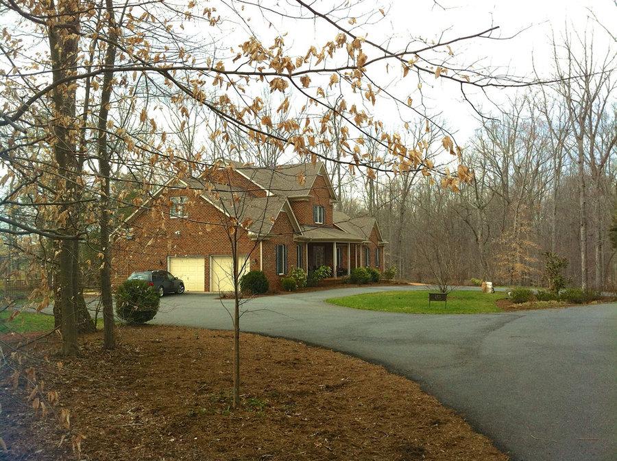 Northern Albemarle County, VA:  Deer Out, People & Plants In