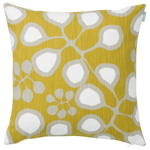 Sedum Cushion Cover, Mustard