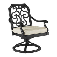 A.R.T. Home Furnishings Arch Salvage Outdoor Gabrielle Rockers, Set of 2, Black