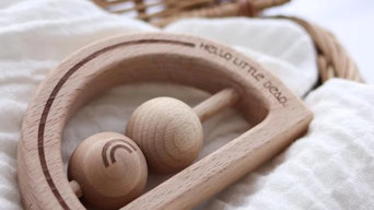 Provide Relief to Your Infant with Wooden Baby Teether