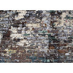 Brick Wall Wall Mural   18 Inches W X 13 Inches H Part 69