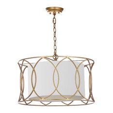 "Safavieh Silas 21.5"" Adjustable Pendant Lamp"