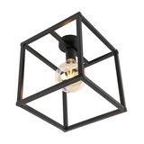 Modern Ceiling Lamp Black - Big Cage