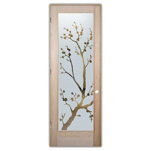 Interior Glass Door Sans Soucie Art Glass Cherry Blossom Negative