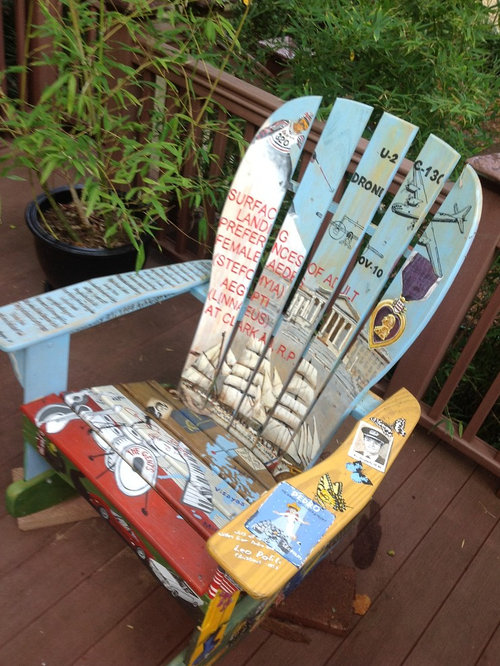 Retirement Gift/Painted Rocking Chair