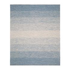Safavieh Montauk Flatweave Rug, Blue/Ivory, 8'x10'