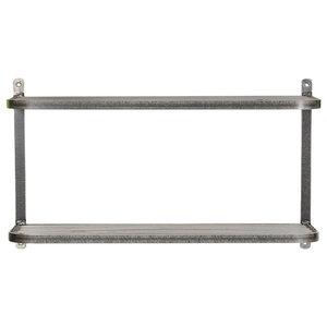 Farringdon Steel Double Wall Shelf