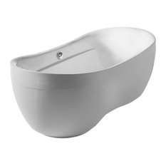 Oval Double Ended Freestanding Bathtub