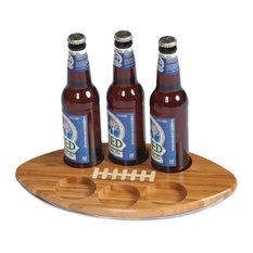 Beer Huddle Tray, Bamboo