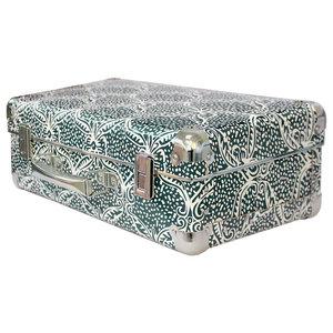 Ubud Green and White Decorative Box, Small