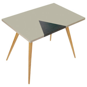 Insert Coffee Table, Grey and Black