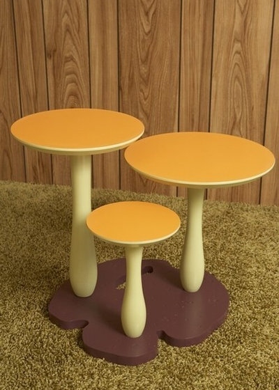 Eclectic Side Tables And End Tables by Thomas Wold