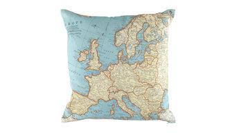 Europe Map Cushion
