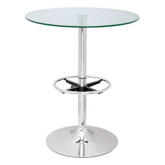 Round Glass Top Pub Table PUB TABLE-30