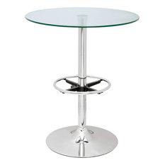 Round Glass Top Pub Table, PUB TABLE-30