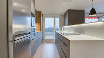 Fotografía de piso recién reformado en Donostia.
