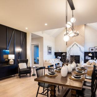 Watermark at Bearspaw | Farmhouse - Open Concept Living & Dining