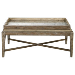 Farmhouse Coffee Tables by Innovations Designer Home Decor & Accent Furniture
