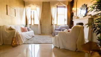 ALLESTIMENTO DI HOME STAGING IN UN BELLISSIMO PALAZZO STORICO IN PIENO CENTRO A