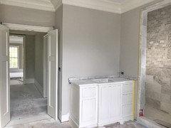 agreeable gray bathroom. Agreeable Gray Vs Worldly Accessible Beige Bathroom  Design Ideas