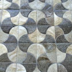 Caseros cowhide rug - Area Rugs