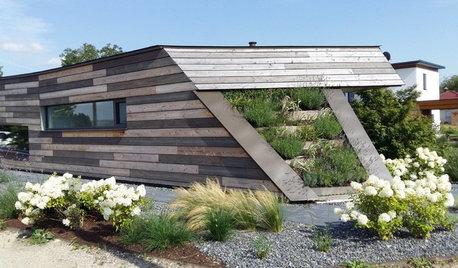 Houzzbesuch: Dynamisches Niedrigenergiehaus in Holzbauweise