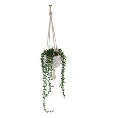 Macrame Hanging Ceramic